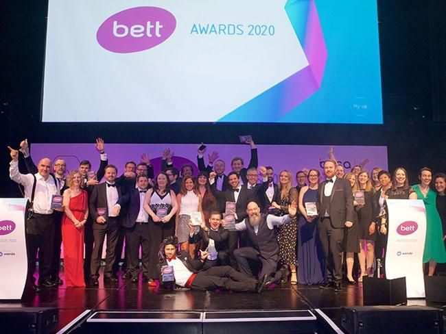 Congratulations to all the Bett Awards 2020 winners!