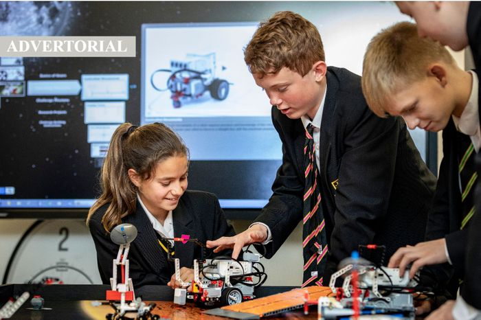 A smooth virtual transition and thorough wellbeing strategy at Caterham School achieves top exam results
