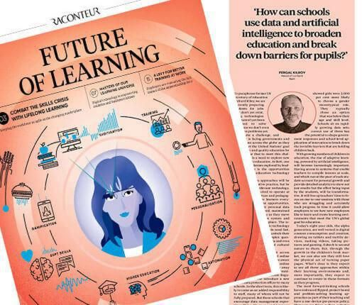The future of learning and Bett