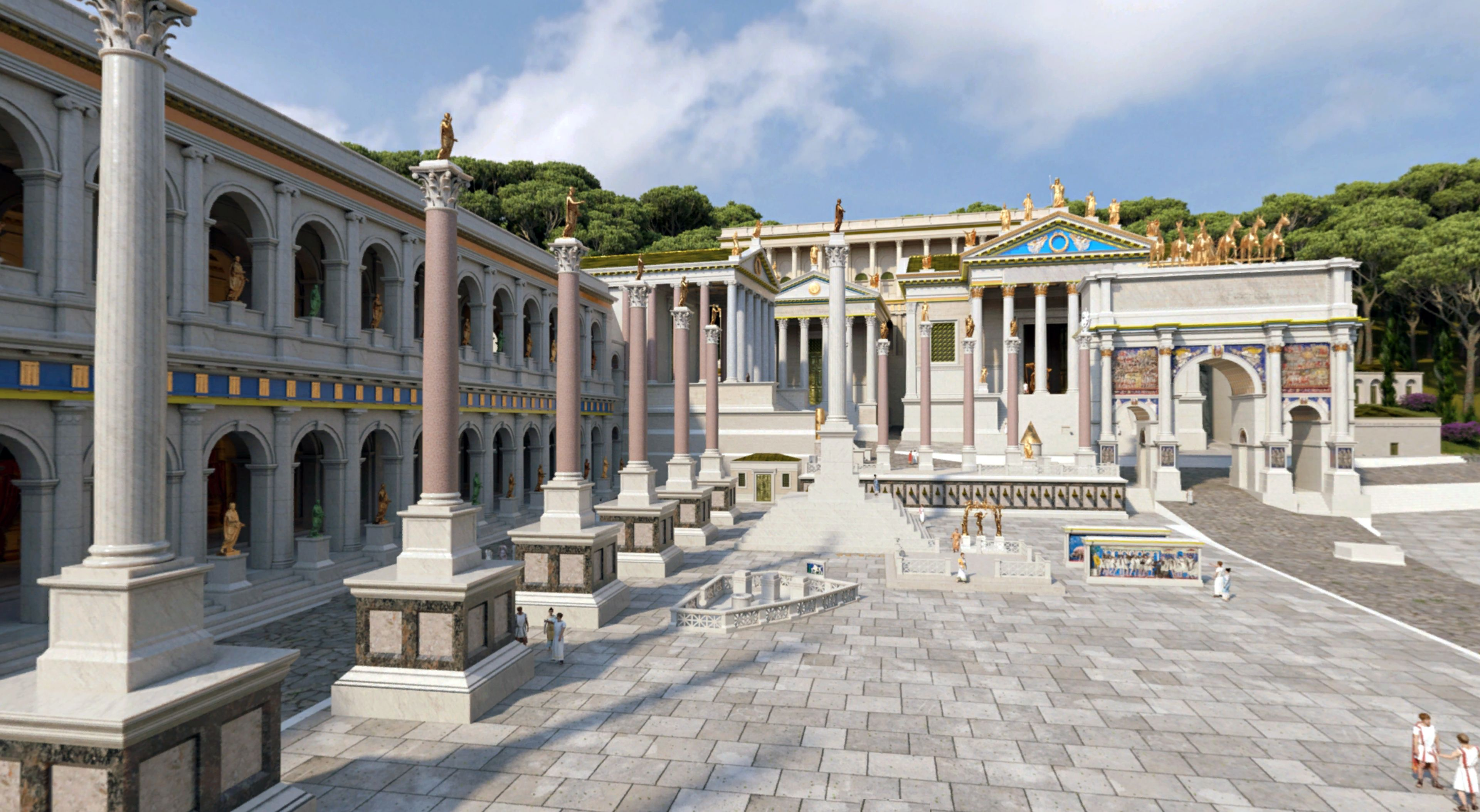 Lesson Plan for Rome Reborn: Roman Forum