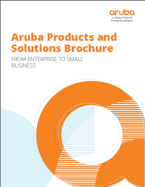 Higher Education:  Aruba Products and Solutions Brochure