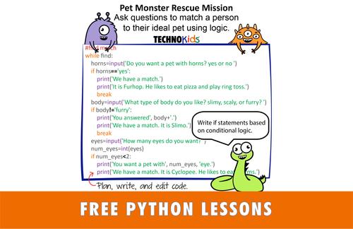 TechnoPython  - Coding Lessons for Beginners