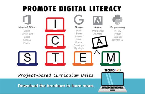 TechnoKids Digital Literacy and STEM Curriculum