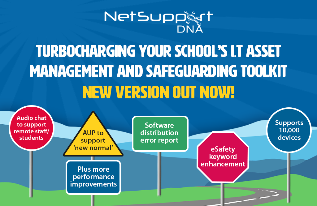 Turbocharging your school's IT Asset Management and Safeguarding toolkit – v4.85 out now!