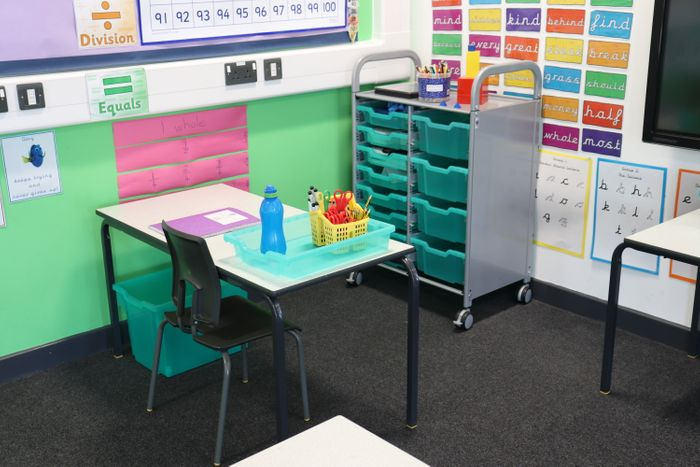Gratnells adds antimicrobial protection to classroom storage