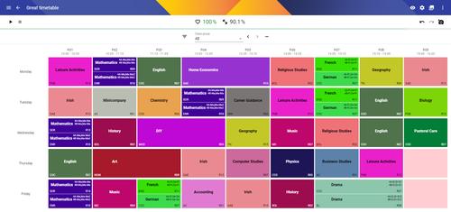 Skolaris Timetable Optimisation