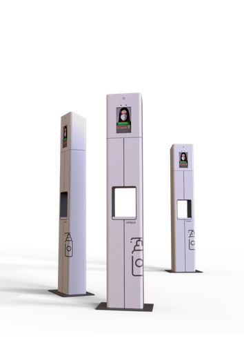 Hygistation - Hygiene and Temperature Measurement Kiosk