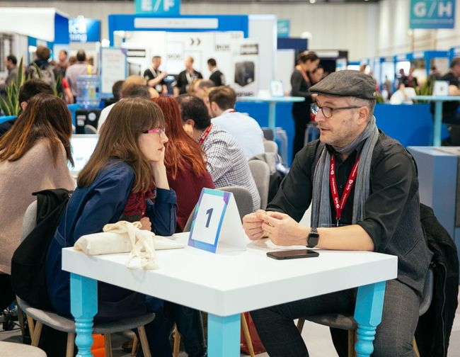 The power of face-to-face networking