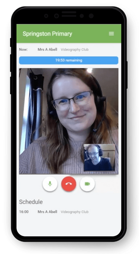 Video Calls for Teachers & Parents
