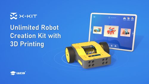 X-KIT: Unlimited Robot Toy Creation Kit With 3D Printer
