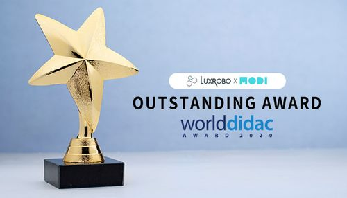 LUXROBO Wins Worlddidac Outstanding Award 2020 For 'MODI'