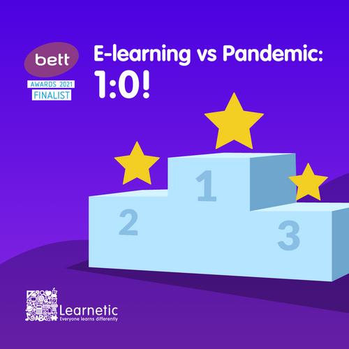 BettAwards 2021: Learnetic announced a finalist!