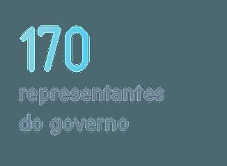 representantes do governo