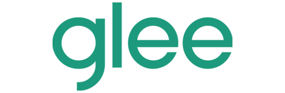 Glee logo green
