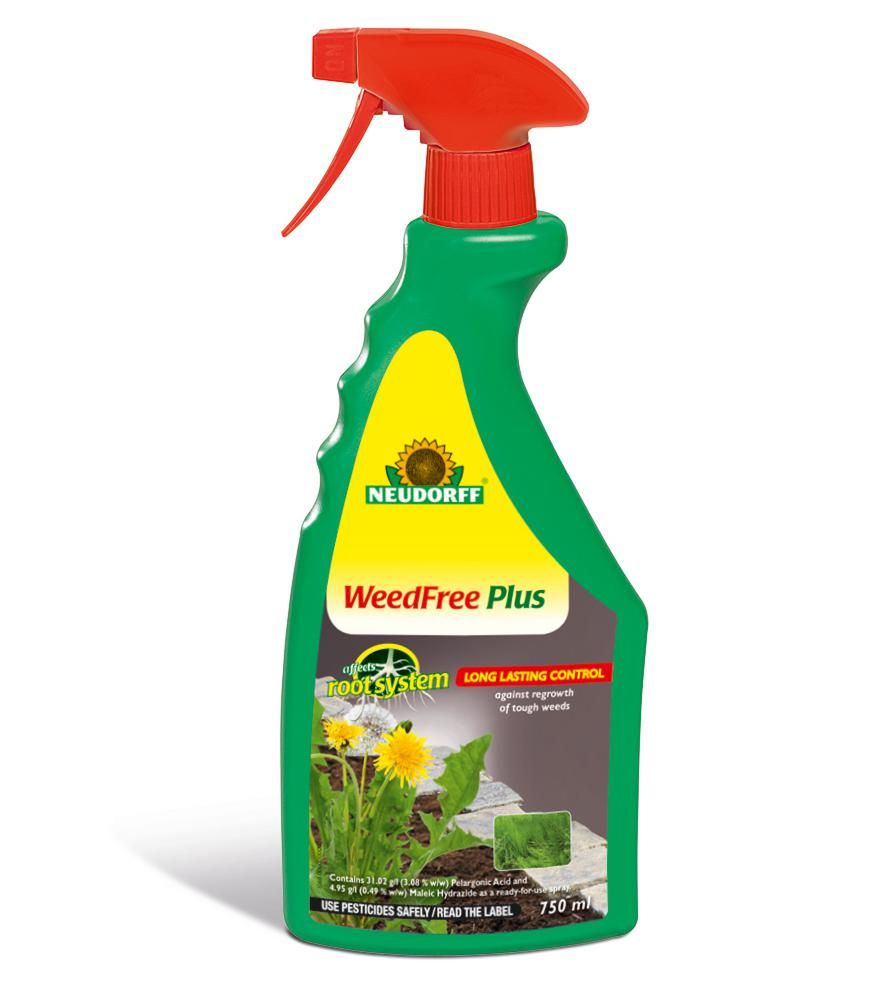 The newly renamed WeedFree and BugFree from Neudorff.