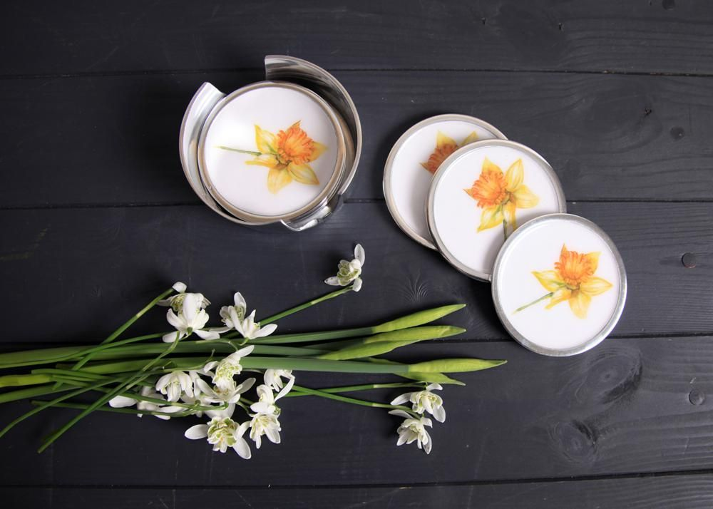 Daffodil-Coasters