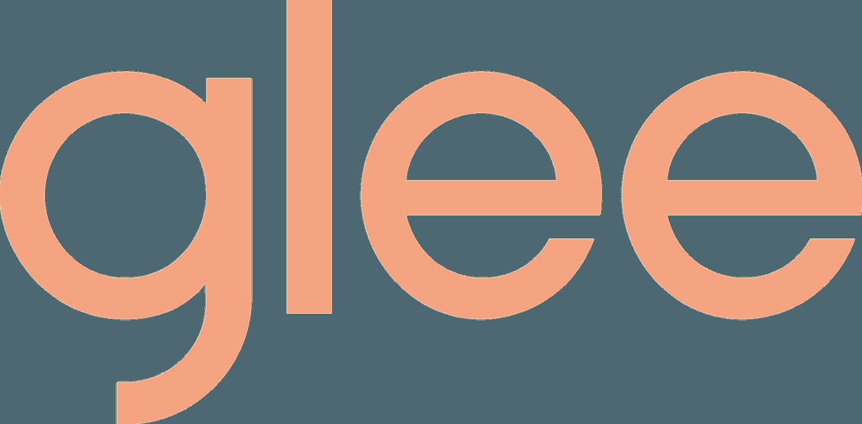 Glee logo pink