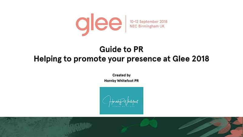 guide to glee 2018 PR
