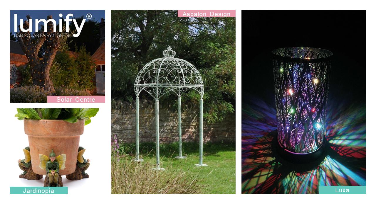 glee mythical garden collage 2