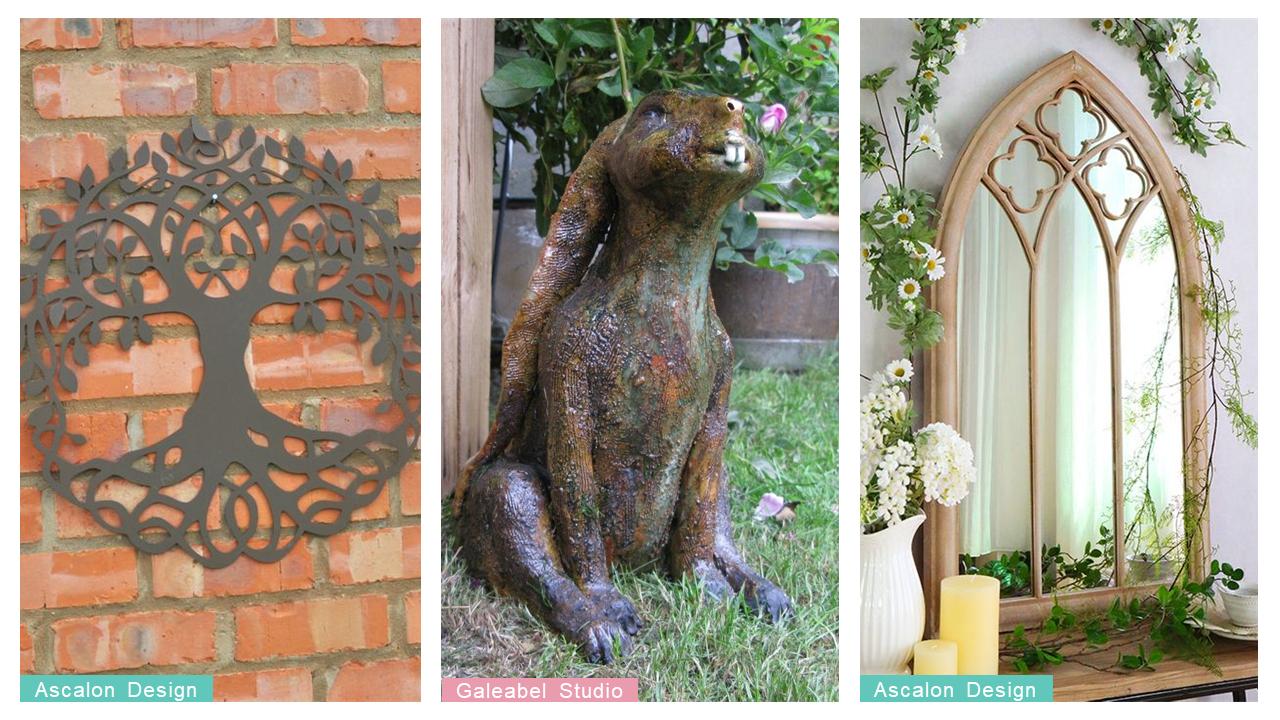 glee mythical garden trend collage 1