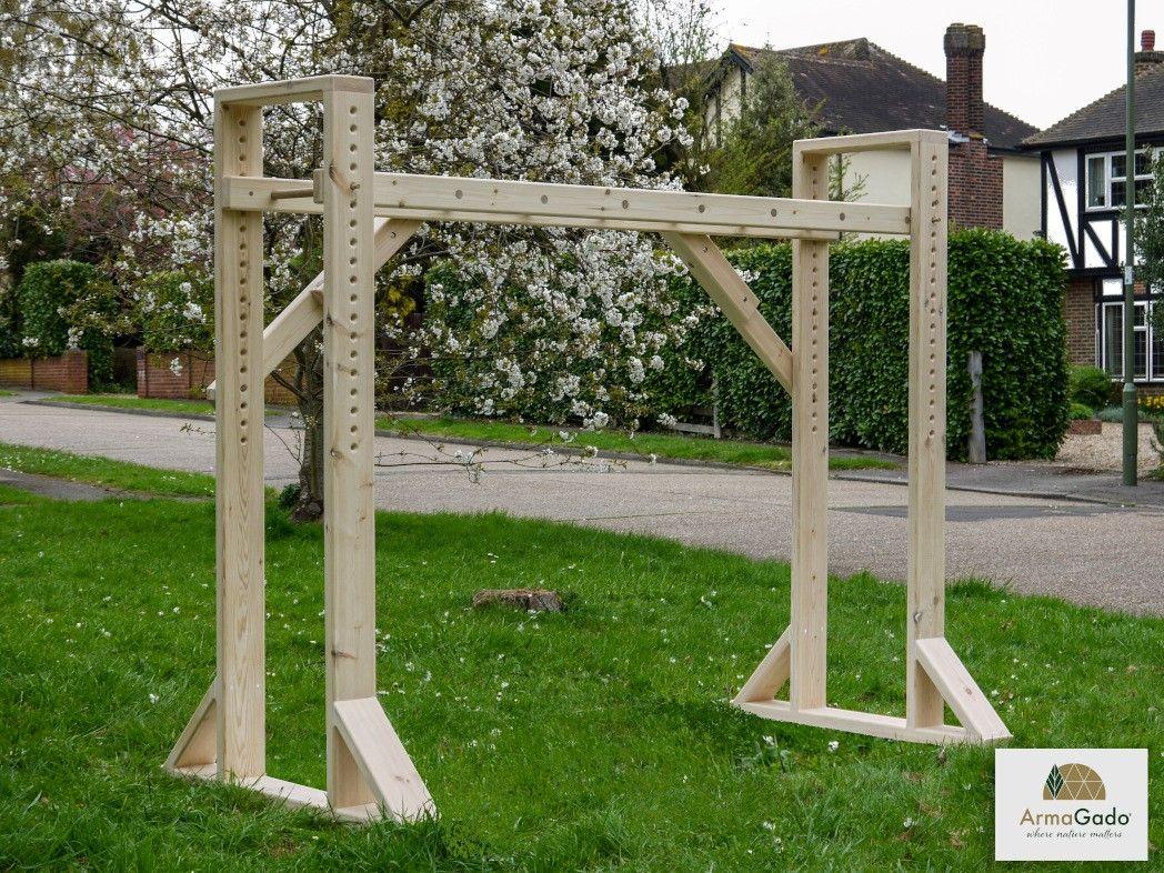 wooden children's ladder