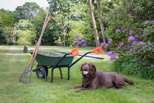 Garden iTip Wheelbarrow Handles.