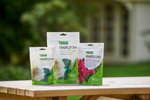 New products and packaging from natural gardening brand Empathy