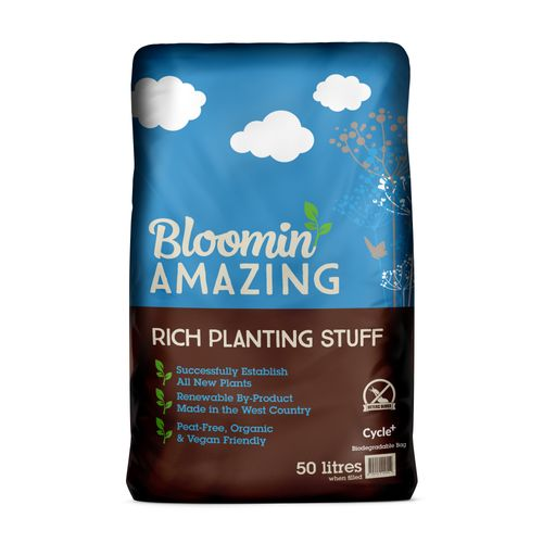 Bloomin Amazing extend the highly successful product into new uses, a new size and a totally biodegradable pack