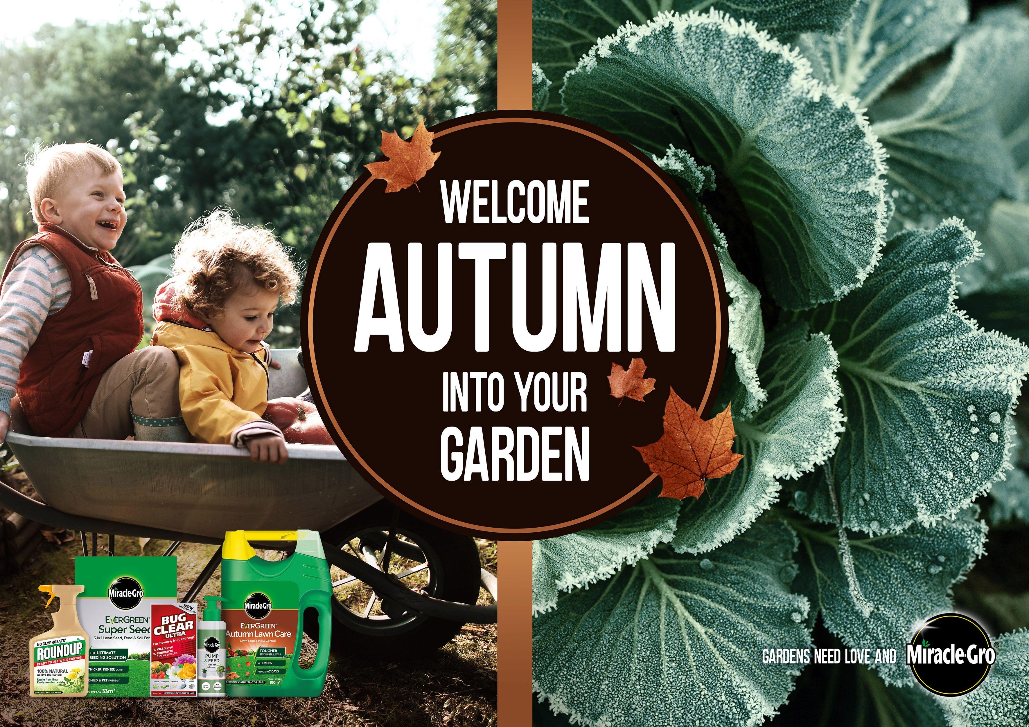 Evergreen Garden Care - Autumn Campaign Trade Press Release 2020