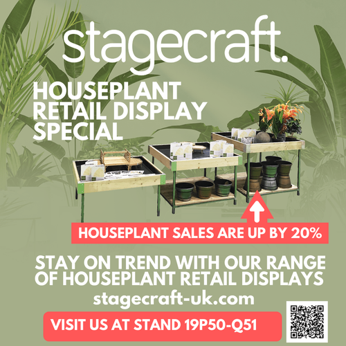 Stay on trend with Stagecraft's Houseplant Retail Display range at Glee