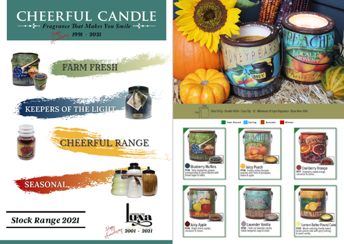 Luxa Cheerful Scented Candles