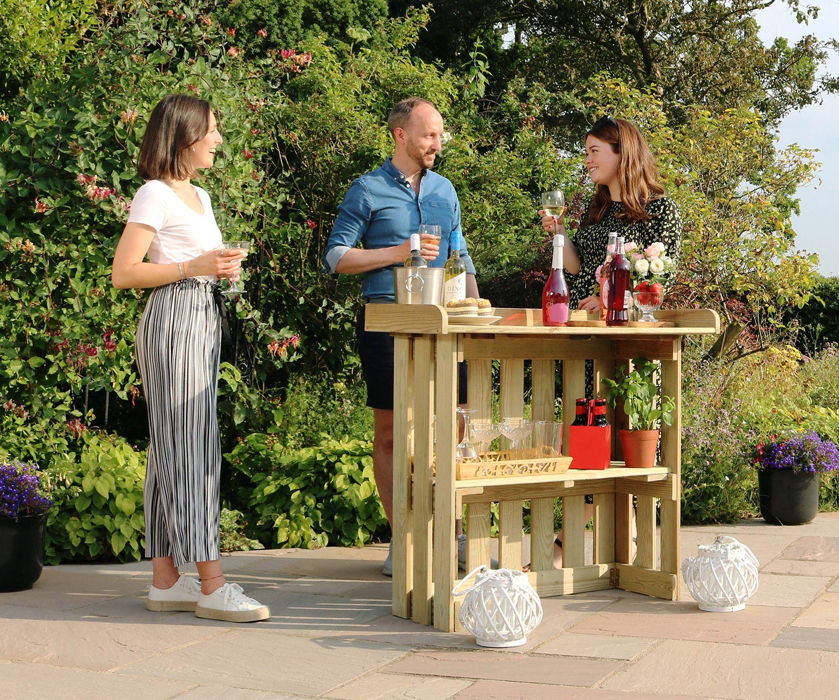*NEW* Folding Garden Bar from Zest 4 Leisure