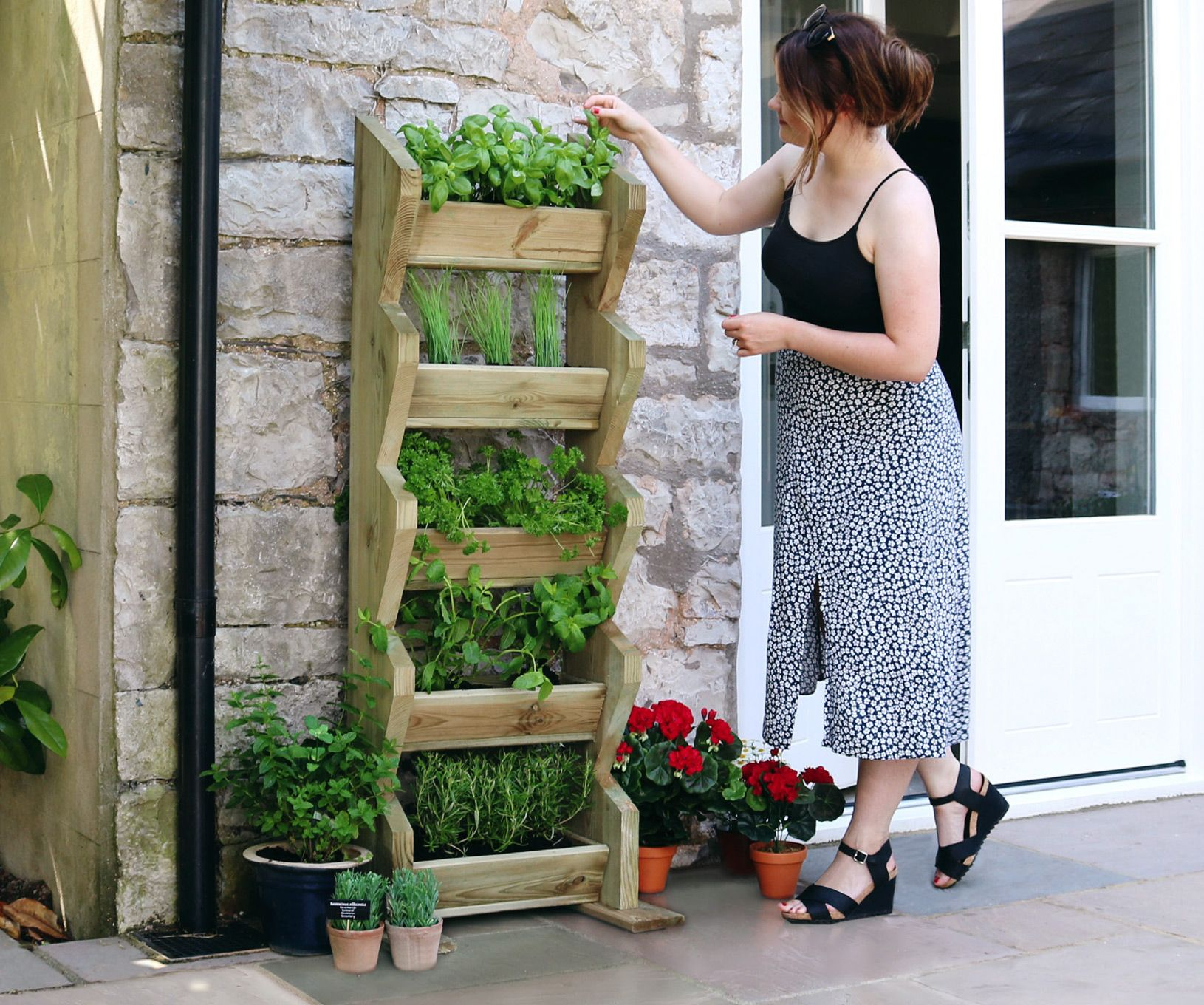 *NEW* Tall Vertical Herb Stand