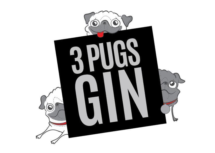 3 Pugs Gin