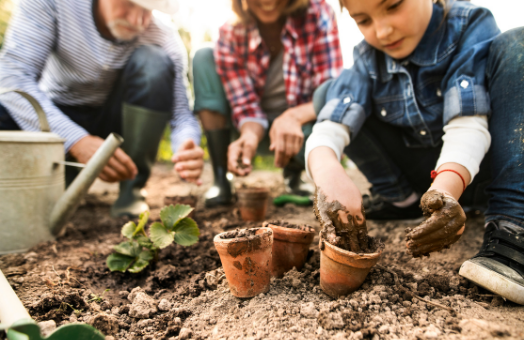 Who are gardening's new customers?