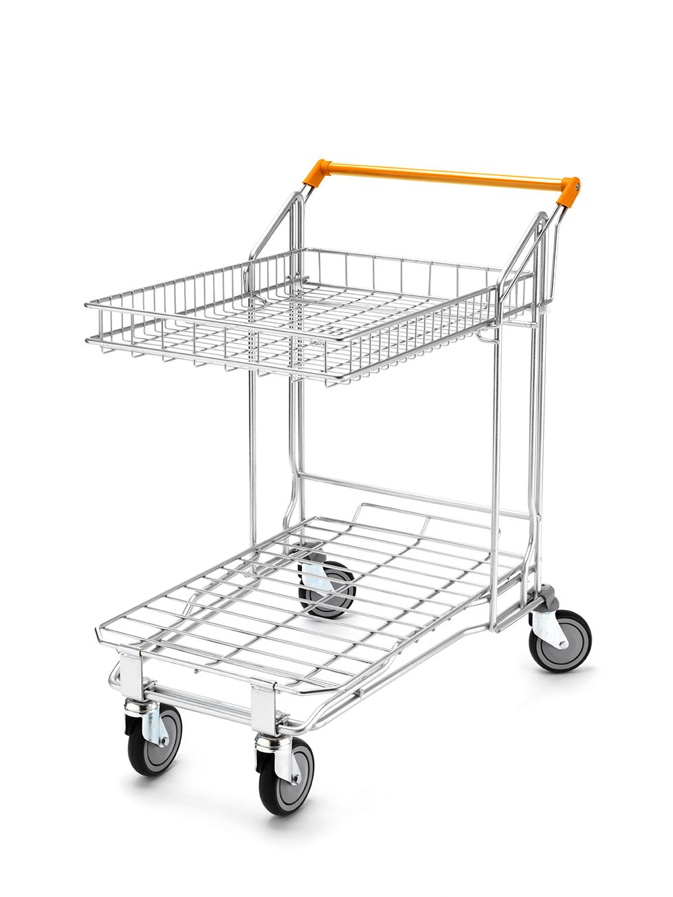 Wire Flatbed With Top Basket