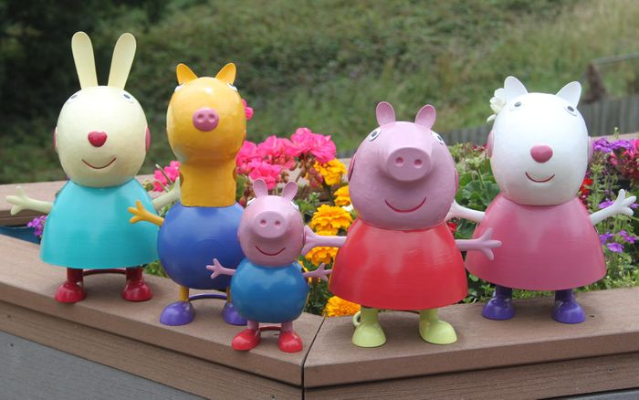 Peppa Pig & Friends Garden Ornaments from Primus