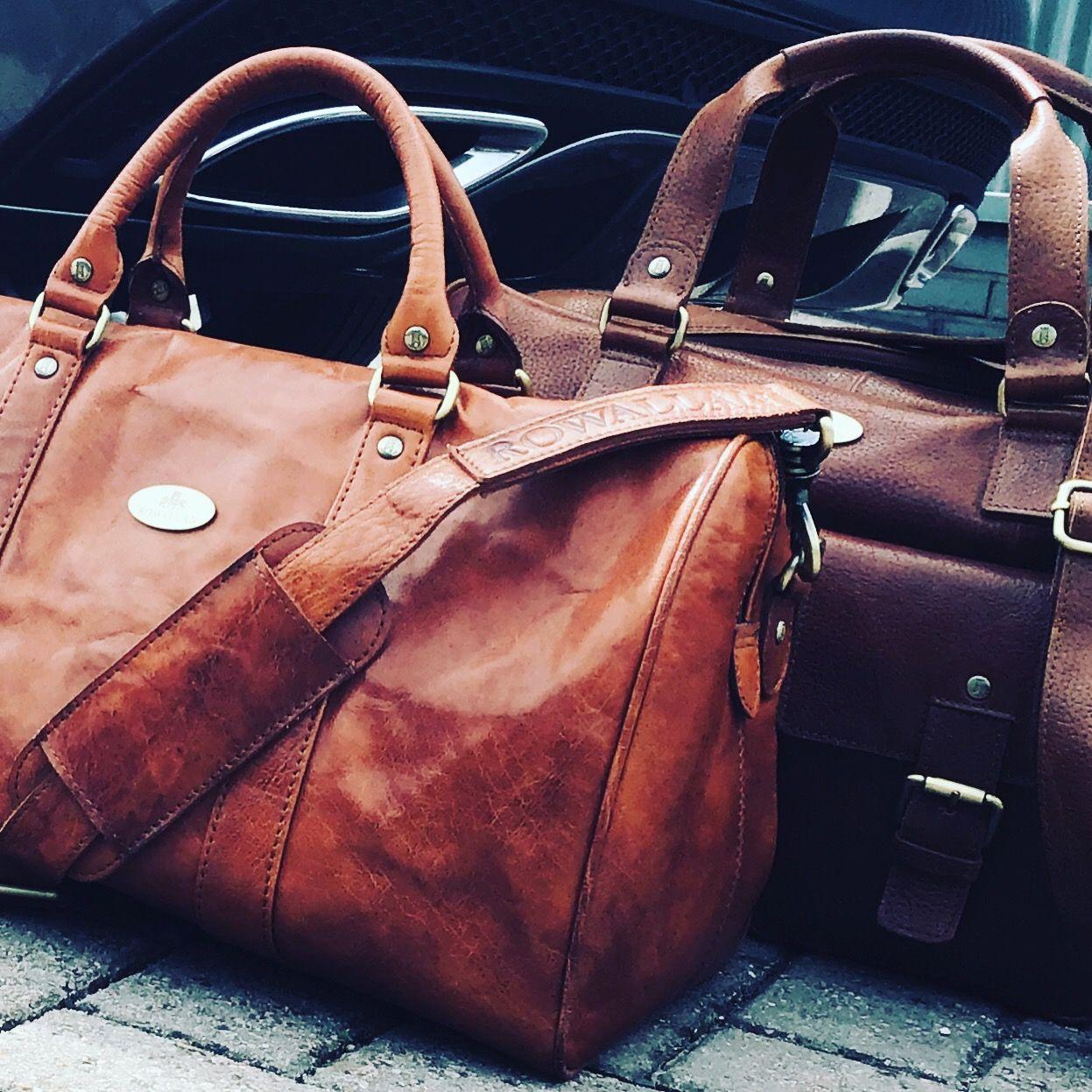 Leather Holdalls
