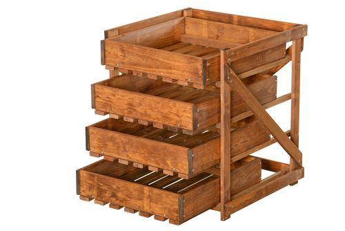 Four drawer set for vegetables