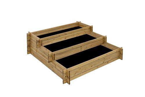 Three level rised bed 290L