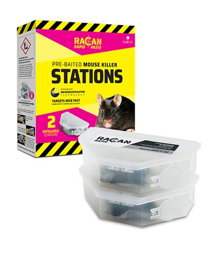 RACAN RAPID MOUSE KILLER STATIONS