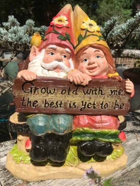 Grow Old with Me - The Best is Yet to Be Gnome