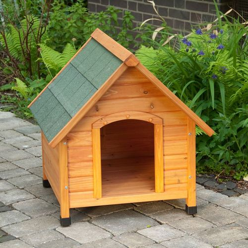 Wooden Dog Kennel Peak Roof