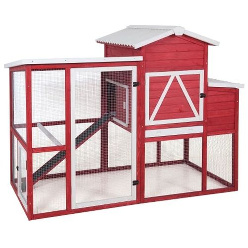 Red Barn Ranch Chicken Coop