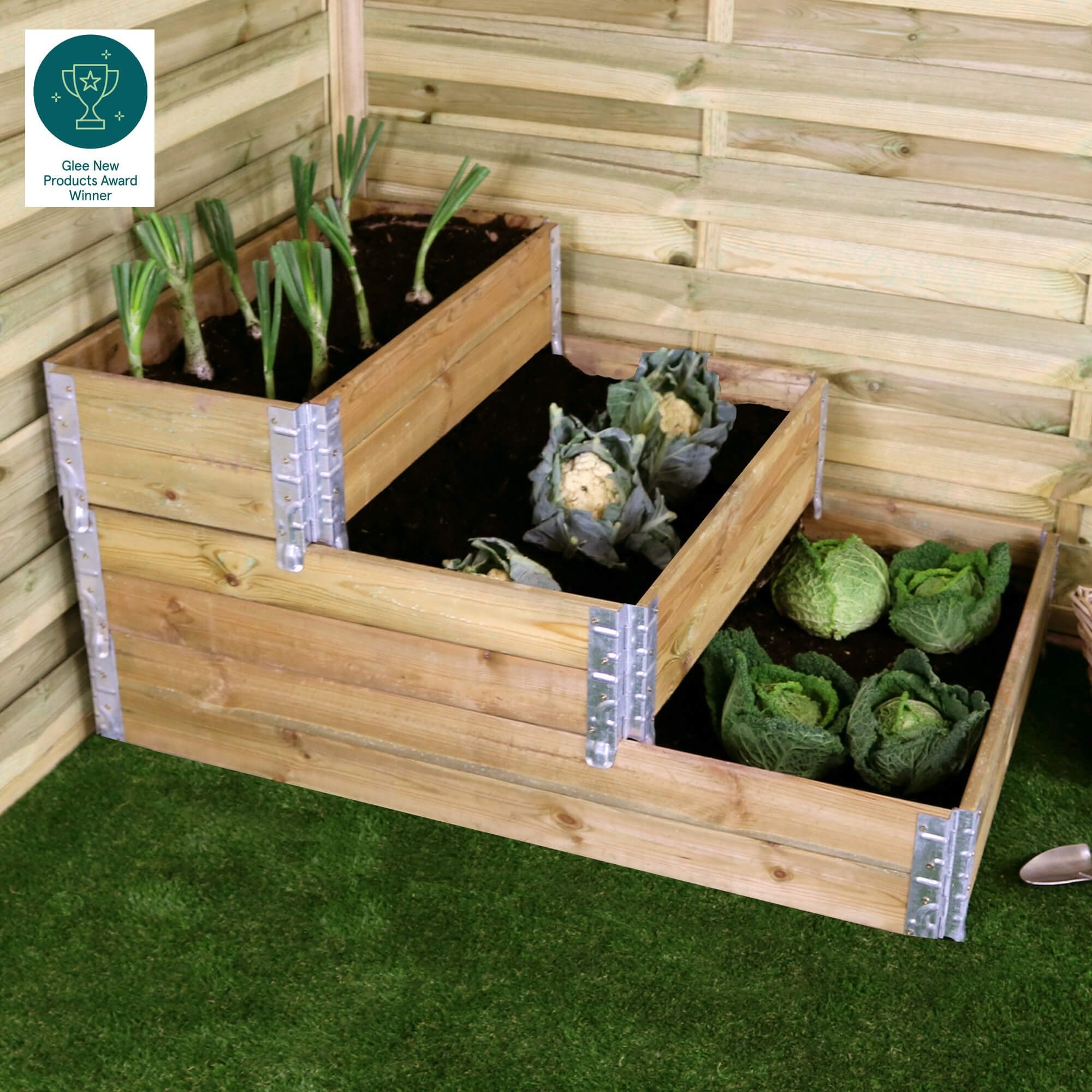 *New 2021*  Stackalbe 3 Tier Raised Beds