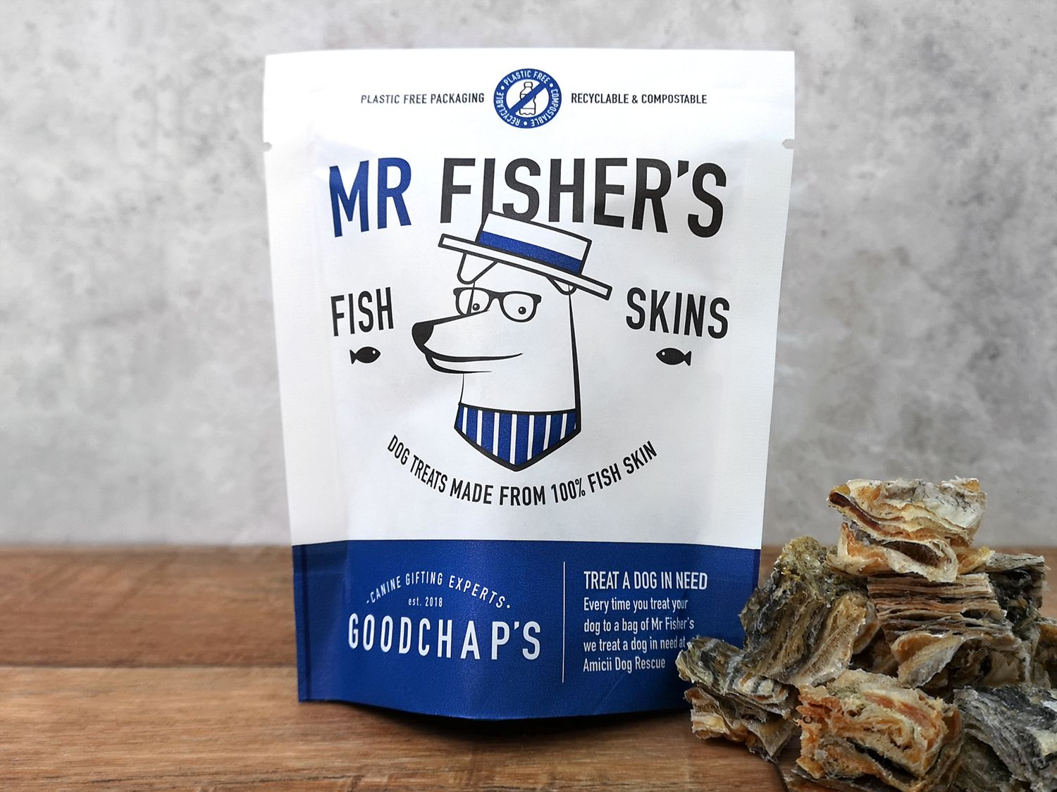 Mr Fisher's Fish skins