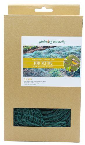 Green Bird Netting 3m x 4m