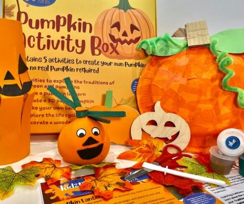 Pumpkin Activity Box