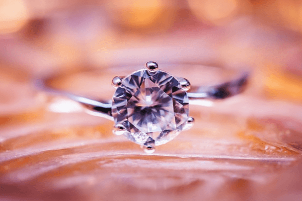 Coloured gemstone