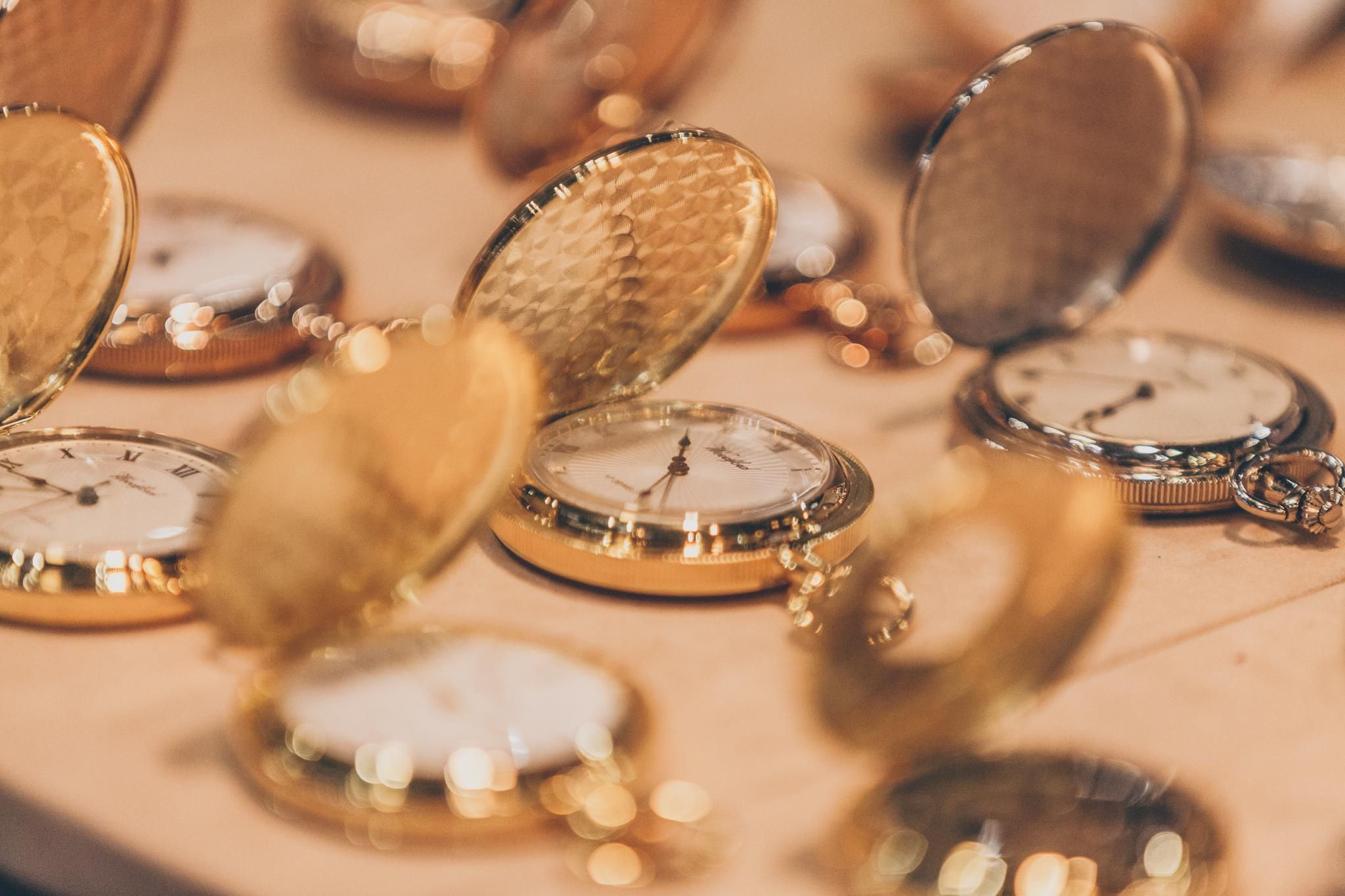 jewellery and watch open pocket watches